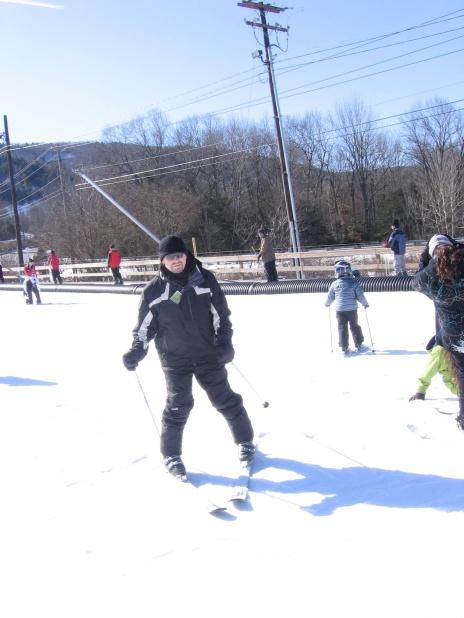 Me on skis!
