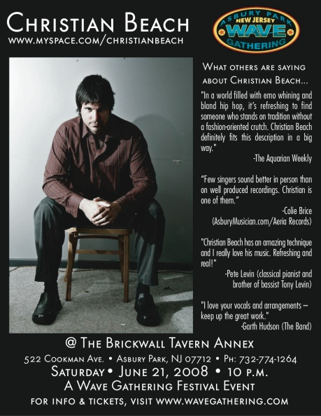 Live at The Brickwall Tavern Annex, 6/21/08