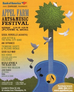 2011 Appel Farm Arts & Music Festival